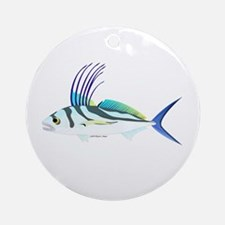 Roosterfish fish Ornament (Round)