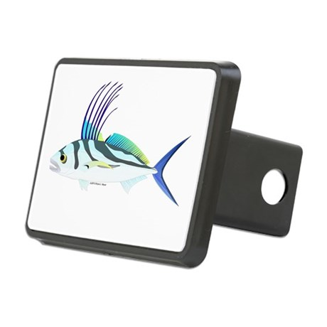 Roosterfish fish hitch cover by combatfishingoffshorefish for Fish hitch cover