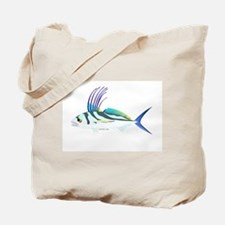 Roosterfish fish Tote Bag