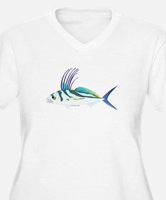 Roosterfish fish Plus Size T-Shirt