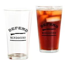 Defend San Francisco Drinking Glass