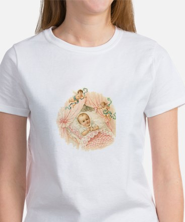 Vintage Baby Girl Women's T-Shirt