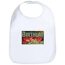 Romantic Victorian Birthday Bib
