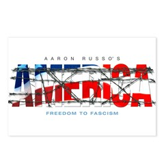 America-W Postcards (Package of 8)