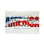 America-W Rectangle Magnet (100 pack)