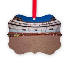Panoramic view of a bullring, Pla Ornament