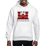 16th Engineer Brigade Hooded Sweatshirt