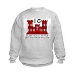 16th Engineer Brigade Kids Sweatshirt