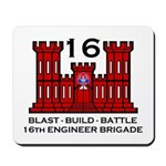 16th Engineer Brigade Mousepad