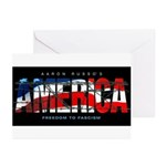 America-B Greeting Cards (Pk of 10)