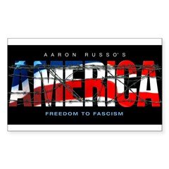 America-B Rectangle Decal