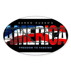 America-B Oval Decal