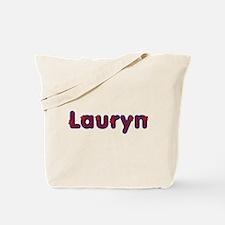Lauryn Red Caps Tote Bag