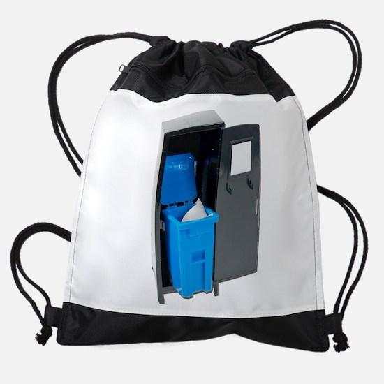 RecyclingSchoolItems122111.png Drawstring Bag