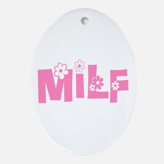 MILF Ornament (Oval)