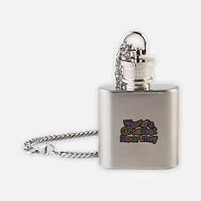 Worlds Greatest Kourtney Flask Necklace