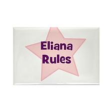 Eliana Rules Rectangle Magnet