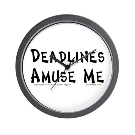 Deadlines... Wall Clock