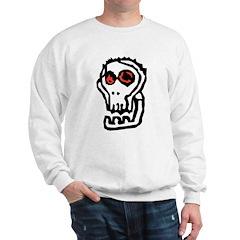 Stylized Skull Sweatshirt