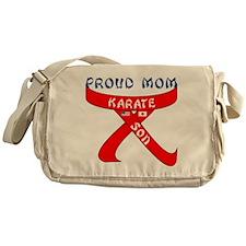Proud Mom Karate Son Messenger Bag