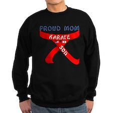 Proud Mom Karate Son Sweatshirt