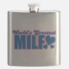 Worlds Greatest MILF Flask