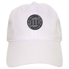 Three Percent Silver Baseball Baseball Cap
