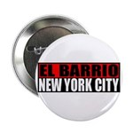 El Barrio New York City Button