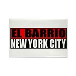 El Barrio New York City Rectangle Magnet (10 pack)