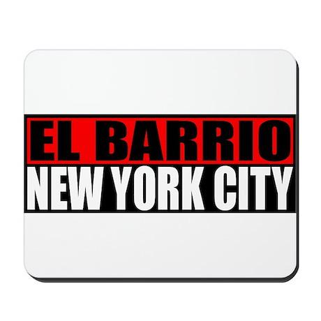 El Barrio New York City Mousepad