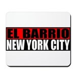 El Barrio New York City Mousepad