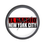 El Barrio New York City Wall Clock