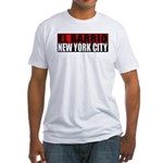 El Barrio New York City Fitted T-Shirt