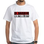 El Barrio New York City White T-Shirt