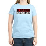 El Barrio New York City Women's Pink T-Shirt