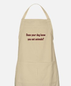 Does your dog know? Apron