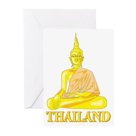 Thailand Buddah Greeting Cards (Pk of 10)