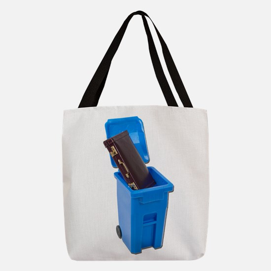 RecyclingEmploymentPositions122 Polyester Tote Bag
