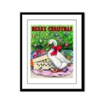 Holiday Package Framed Panel Print
