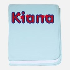 Kiana Red Caps baby blanket