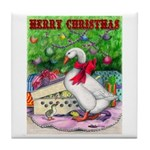 Holiday Package Tile Coaster