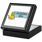 Cat Spoken Here Keepsake Box