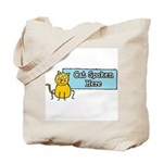 Cat Spoken Here Tote Bag