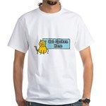 Cat Spoken Here White T-Shirt