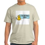 Cat Spoken Here Ash Grey T-Shirt