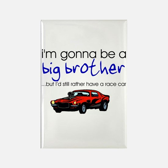 Gonna be big brother (race car) Rectangle Magnet