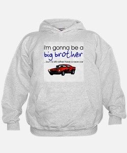 Gonna be big brother (race car) Hoodie
