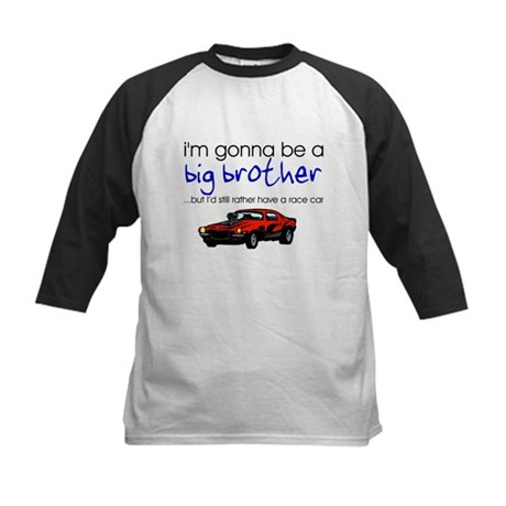 Gonna be big brother (race car) Kids Baseball Jers