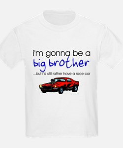 Gonna be big brother (race car) Kids T-Shirt