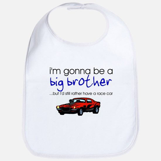 Gonna be big brother (race car) Bib